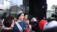 Mendapatkan pembekalan dari KPK, 39 Finalis Puteri Indonesia diharap bisa menjadi agen SPK. (Bintang.com/Daniel Kampua)