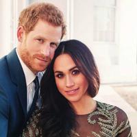 Foto pertunangan Pangeran Harry dan Meghan Markle (AP)
