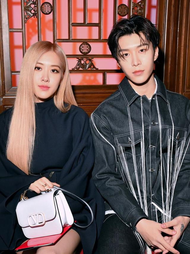 Rose Blackpink dan Fan Chengcheng (Instagram/ real_fanchengcheng)