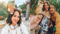 6 Potret Andien Liburan di Disneyland Hong Kong, Jadi Sorotan (Sumber: Instagram/andienaisyah)