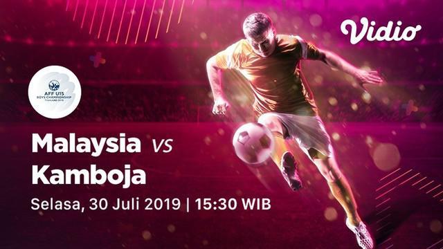 Berita video Malaysia sudah menorehkan 10 gol dan belum kebobolan di Piala AFF U-15 2019 setelah menang 2-0 atas Kamboja pada Selasa (30/7/2019).