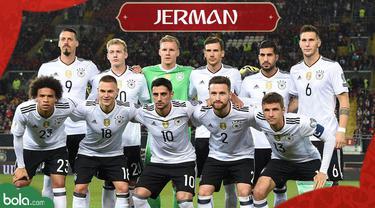 Berita Video profil Tim Piala Dunia 2018, Jerman Berambisi Pertahankan Gelar