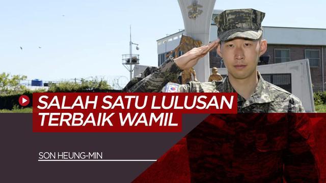 Berita Video Pemain Tottenham Hotspur, Song Heung-min Lulus Wajib Militer Dengan Nilai Memuaskan