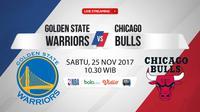 Golden State Warriors Vs Chicago Bulls (Bola.com/Adreanus Titus)