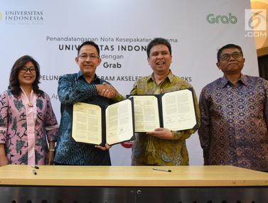 Ciptakan Technoprenuership, Universitas Indonesia Gandeng Grab