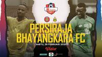 Shopee Liga 1 2020: Persiraja Banda Aceh vs Bhayangkara FC. (Bola.com/Dody Iryawan)