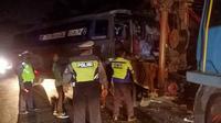 Sopir bus CV Intra yang sempat kabur saat kecelakaan kini telah menyerahkan diri