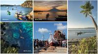 Sejumlah hasil jepretan dalam Lomba Foto Adventure Tourism yang digelar Bakti Kominfo. (Ist)