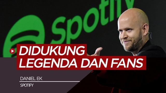 Berita video Pendiri Spotify, Daniel Ek berniat ambil alih Arsenal dari Stan Kroenke