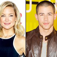 Nick Jonas dan Kate Hudson (via popsugar.com)