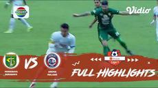Berita video highlights Shopee Liga 1 2019 antara Persebaya Surabaya melawan Arema FC yang berakhir dengan skor 4-1, Kamis (12/12/2019).