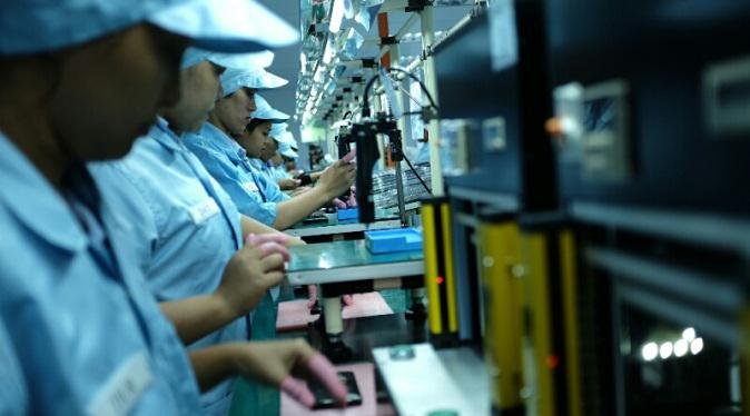 Pabrik perakitan smartphone milik PT Sat Nusapersada (PTSN) - (Liputan6.com/Iskandar)