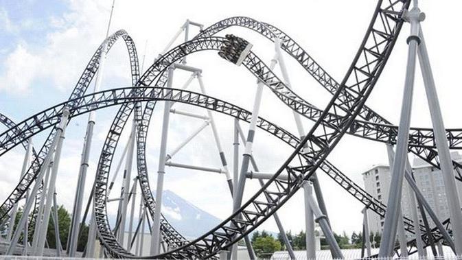 Taman Hiburan di Jepang Kembali Buka, Pengunjung Dilarang Teriak Saat Naik Roller Coaster