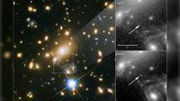 Icarus, bintang terjauh yang pernah tertangkap ilmuwan (P. Kelly/University of Minnesota/NASA/ESA)