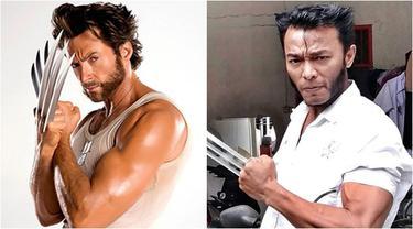 7 Potret Hendry, Pria Toraja yang Gayanya Mirip dengan Wolverine