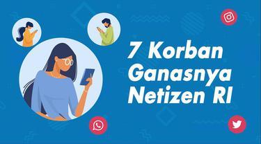 Indonesia jumlah penduduk terbanyak ke-4 di dunia dengan 274,9 juta jiwa. 170 juta jiwa pengguna media sosial. Ini membuat banyak korban ganasnya netizen Indonesia di beberapa bulan terakhir ini.