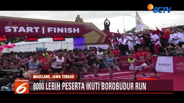 Selain untuk mempromosikan wisata Borobudur dan Jawa Tengah, lomba ini menjadi ajang warga dunia untuk menggaungkan perdamaian.