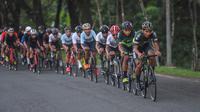 Kegiatan Cycling Challenge Series yang digelar oleh komunitas ASC Cycling di Sentul, Jawa Barat, Rabu (24/3/2021). (Bola.com/Ist)