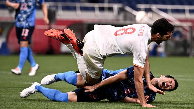 Hasil Sepak Bola Olimpiade Tokyo 2020: Gusur Jepang ...