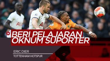 Berita Video Eric Dier Ribut dengan Oknum Suporter Usai Tottenham Dikalahkan Norwich di Piala FA