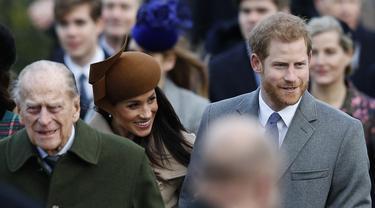 Pemakaman Pangeran Philip Bakal Jadi Momen Bersatunya Pangeran Harry dan Keluarga Kerajaan