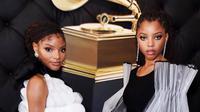 Tren fashion 2019 dari Grammy Awards 2019 Credit: Instagram @chloexhalle