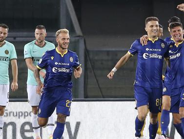 Lukaku Tak Berdaya, Inter Milan Ditahan Imbang Hellas Verona