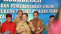 Menteri Dalam Negeri Tito Karnavian saat Rapat Koordinasi Bidang Politik dan Pemerintahan Umum dan Deteksi Dini Mendukung Sukses Pilkada Serentak Tahun 2020 di Bali.