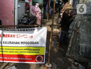 10 RT di DKI Jakarta Ditetapkan Sebagai Zona Merah COVID-19