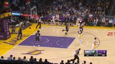 Berita video game recap NBA 2017-2018 antara Sacramento Kings melawan LA Lakers dengan skor 84-83.
