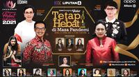 Anugerah Perempuan Hebat Indonesia 2021. (Kapanlagi Youniverse / Liputan6.com)