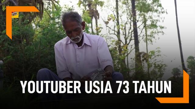 Youtuber 73 tahun