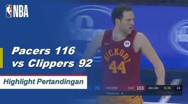 Bojan Bogdanovic berakhir dengan 29 poin dan Myles Turner menambah 17 poin saat Pacers menang keempat beruntun mereka.