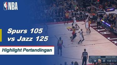 Donovan Mitchell mencetak 23 poin, Ruby Gobert menambahkan 21 poin dengan 13 rebound membawa Jazz menang