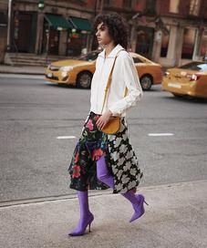 Printed Skirts Revivals - Photo: fashiongonerouge