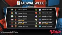 Liga 2 2021 Minggu Ketiga 11-12 Oktober