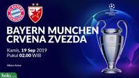 Liga Champions - Bayern Munchen Vs Crvena Zvezda (Bola.com/Adreanus Titus)