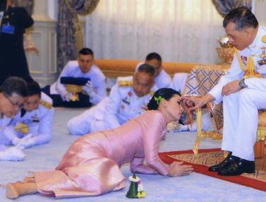 Raja Thailand Menikah untuk Keempat Kalinya