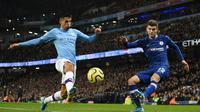 Bek Manchester City, Joao Cancelo. (AFP/Oli Scarff)