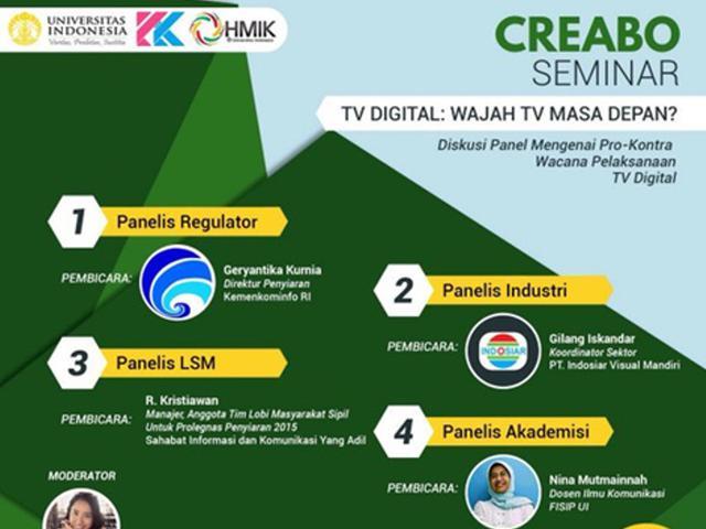 Diskusi Panel Mengenai Pro Kontra Wacana Pelaksanaan Tv Digital Citizen6 Liputan6 Com