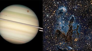 NASA bagikan foto alam semesta