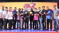 Acara jumpa pers Proliga 2020 di kantor PBVSI, Pancoran, Jakarta, Rabu (15/1/2029). (foto: PBVSI)