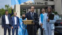 Council on American-Islamic Relations (CAIR) protes masjid Uighur di China berubah jadi hotel. Dok: CAIR