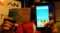 Advan merilis smartphone 4G LTE Rp 900 ribuan, yang dipaket secara bundling dengan Indosat Ooredoo.