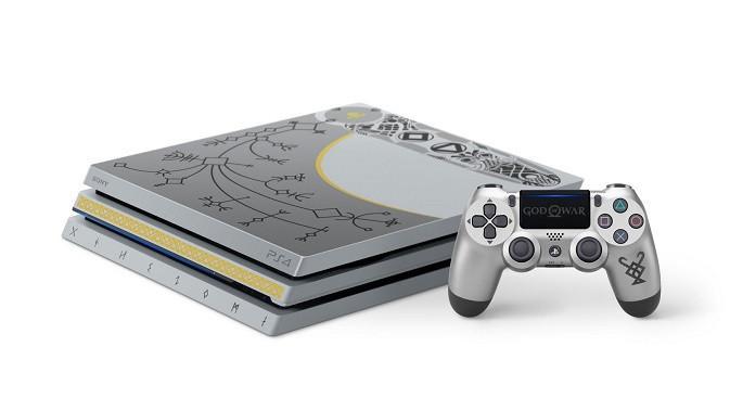 PS4 bundel khusus dengan desain khas God of War (sumber: Sony)