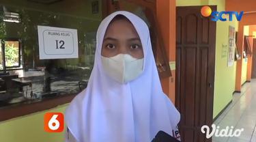 Di Madiun, Jawa Timur, dua sekolah menjalani uji coba pembelajaran tatap muka, yakni SD Negeri 1 Mejayan, dan SMP Negeri 1 Mejayan, pada Senin (03/5).