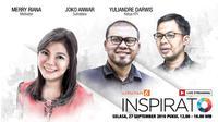Yuk Ikuti INSPIRATO dengan 3 Tokoh Muda Kekinian