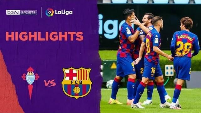 Berita Video Highlights La Liga, Barcelona Ditahan Imbang Celta Vigo 2-2