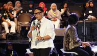 Menteri Luar Negeri RI Retno Marsudi memaparkan pentingnya kesehatan di hadapan seribu anak muda di Jakarta. (Foto: Kemenkes)
