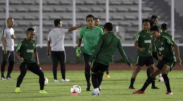 Latihan Timnas Indonesia